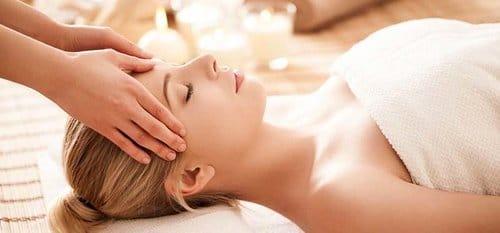 sensual head massage